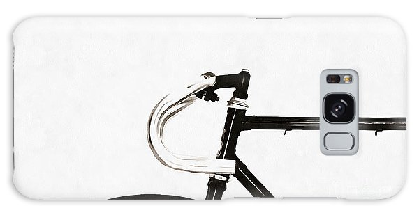 Bicycle Galaxy Case - Minimalist Bicycle Painting by Edward Fielding