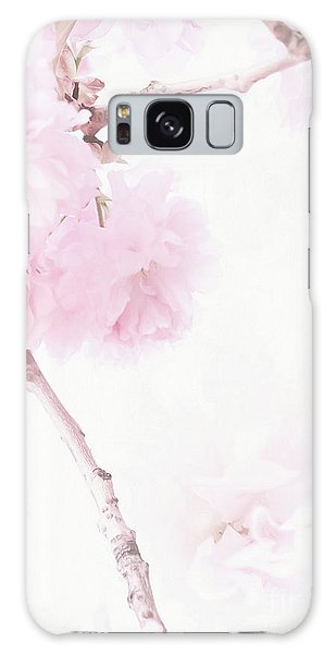 Minimalist Cherry Blossoms Galaxy Case
