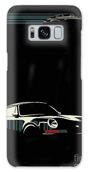 Minimalist Porsche Galaxy Case