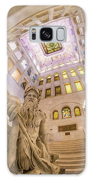 Minneapolis City Hall Rotunda, Father Of Waters Galaxy Case by Jim Hughes