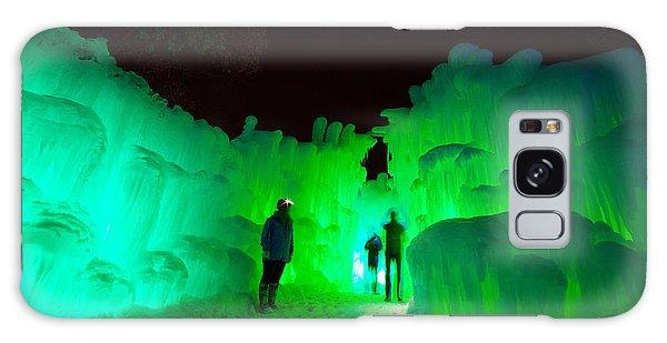 Ice Castles Of Minnesota Galaxy Case