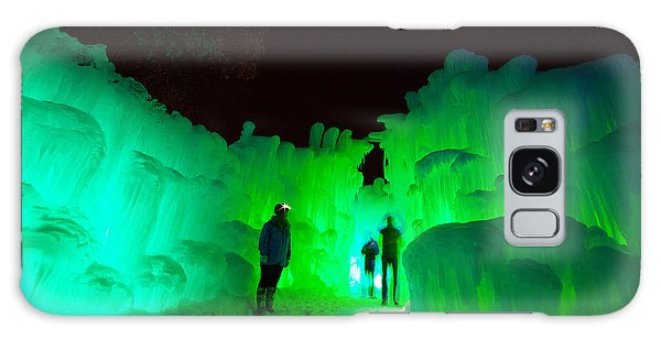 Ice Castles Of Minnesota Galaxy Case