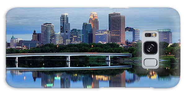Minneapolis Reflections Galaxy Case