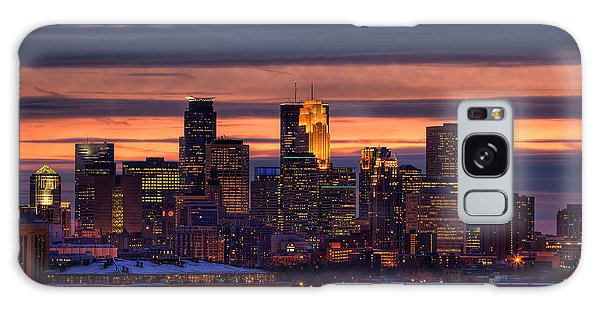 Minneapolis Skyline Galaxy Case