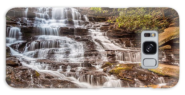 Galaxy Case featuring the photograph Minnehaha Falls by Michael Sussman
