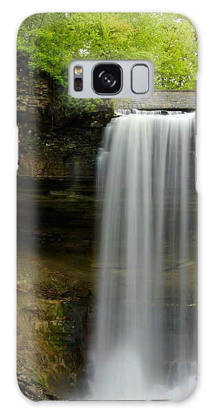 Minnehaha Falls Galaxy Case by Tiffany Erdman