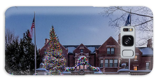 Christmas Lights Series #6 - Minnesota Governor's Mansion Galaxy Case
