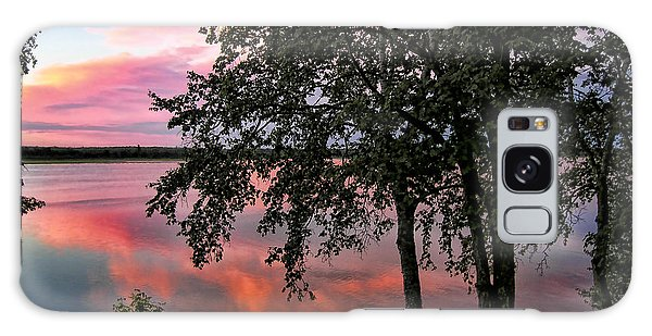 Minnesota Sunset Galaxy Case