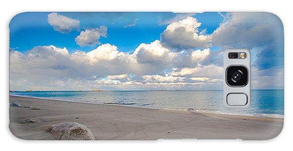 Minot Beach In Scituate Massachusetts  Galaxy Case