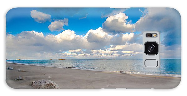 Minot Beach In Scituate Massachusetts  Galaxy Case