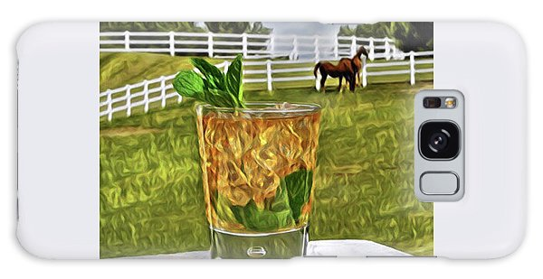 Mint Julep Kentucky Derby Galaxy Case