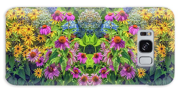 Flowers Pareidolia Galaxy Case