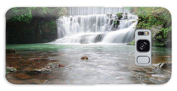 Mirror Lake Falls 2 Galaxy Case by Renee Hardison