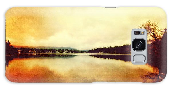 Mirror Lake At Sunset Galaxy Case