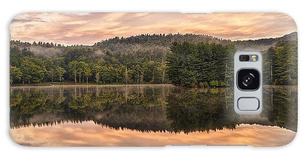 Bass Lake Sunrise - Moses Cone Blue Ridge Parkway Galaxy Case