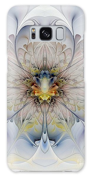 Mirrored Blossom Galaxy Case