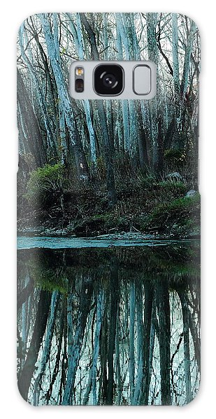 Mirrored Galaxy Case by Bruce Patrick Smith