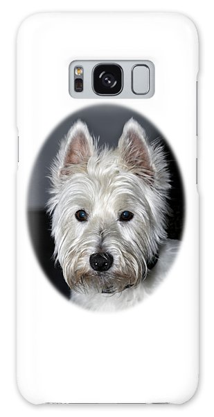 Mischievous Westie Dog Galaxy Case