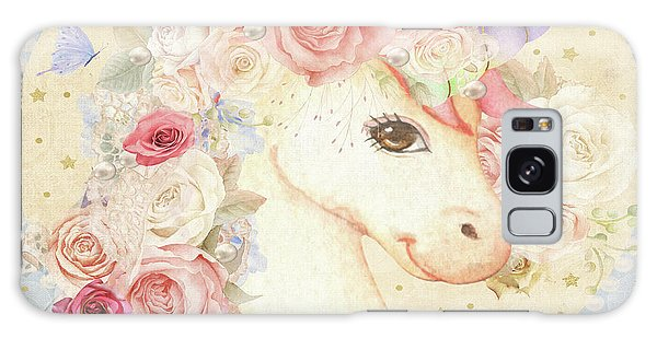 Restaurants Galaxy Case - Miss Lolly Unicorn by Pink Forest Cafe