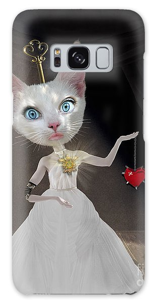 Miss Kitty Galaxy Case by Juli Scalzi