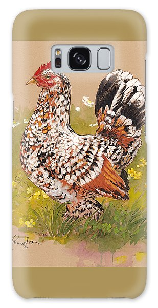 Chicken Galaxy Case - Miss Millie Fleur by Tracie Thompson