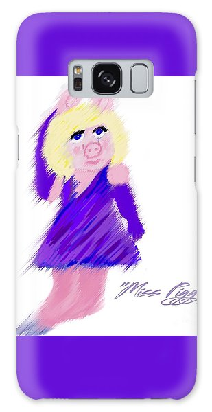 Miss Piggy Galaxy Case by Susan Garren