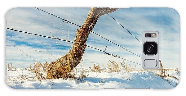 Fence Post Galaxy Case - Misshapen by Todd Klassy