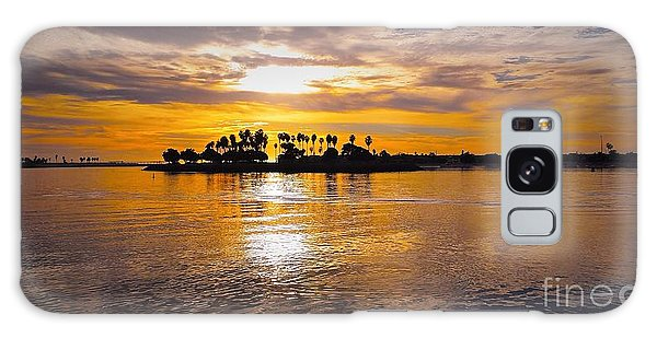 Mission Bay Purple Sunset By Jasna Gopic Galaxy Case