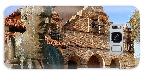 Mission San Antonio And Father Serra Galaxy Case