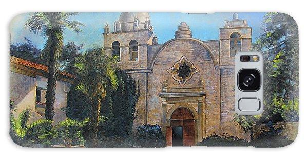 Mission San Carlos In Carmel By The Sea Galaxy Case