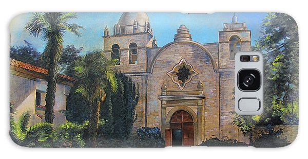Mission San Carlos In Carmel By The Sea Galaxy Case