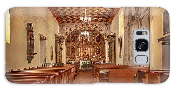 Mission San Francisco De Asis Interior Galaxy Case