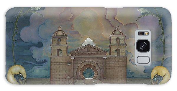 Mission Santa Barbara Galaxy Case by Andrew Batcheller