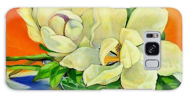 Mississippi Magnolias Galaxy Case