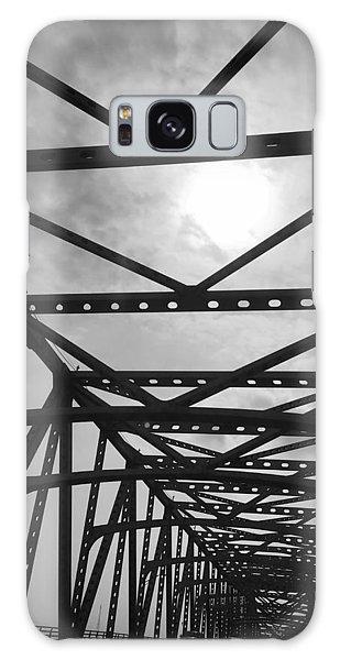 Mississippi River Bridge Galaxy Case