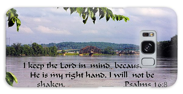 Mississippi River Olams 16v8 Galaxy Case by Linda Phelps