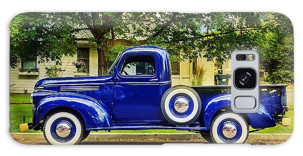 Missoula Blue Truck Galaxy Case by Craig J Satterlee