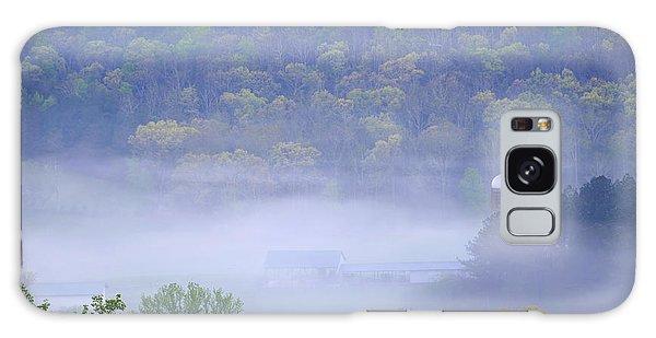 Mist In The Valley Galaxy Case
