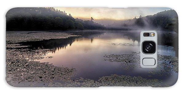 Bass Lake Sunrise - Blue Ridge Parkway Galaxy Case