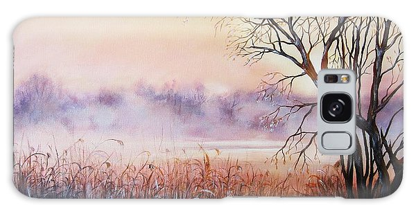 Mist On The River Galaxy Case by Vesna Martinjak