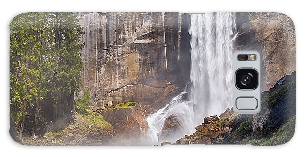 Mist Trail And Vernal Falls Galaxy Case
