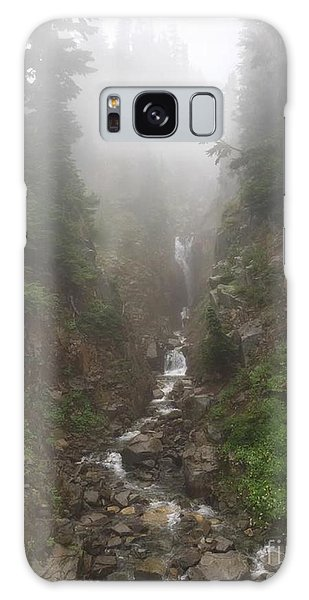 Misted Waterfall Galaxy Case