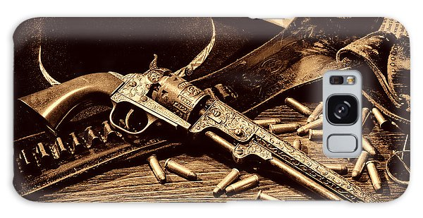 Mister Durant's Revolver Galaxy Case by American West Legend By Olivier Le Queinec
