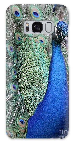 Mister Peacock Galaxy Case