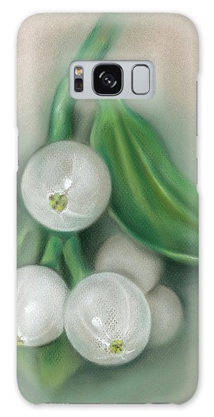 Mistletoe Berries Galaxy Case