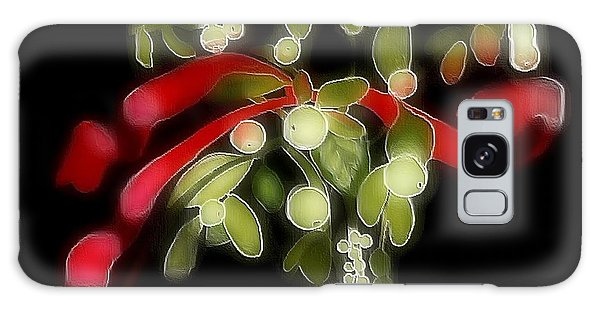 Mistletoe  Galaxy Case
