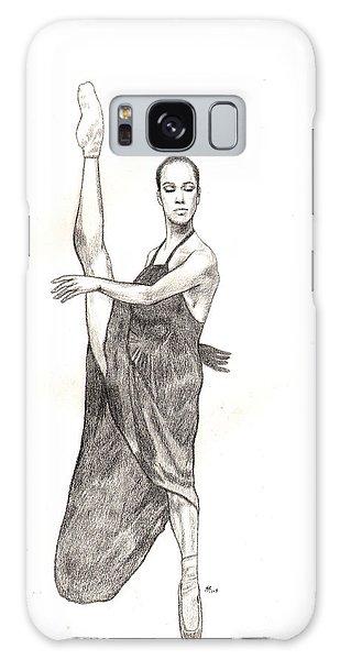 Misty Ballerina Dancer  Galaxy Case