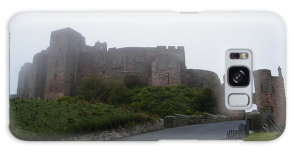 Misty Bamburgh Castle Galaxy Case
