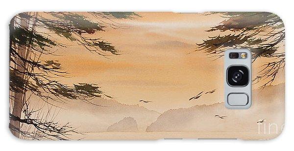 Breaking Dawn Galaxy Case - Misty Dawn by James Williamson