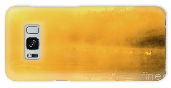 Misty Gold Galaxy Case